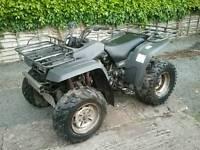 Yamaha big bear 4x4 quad can deliver p/x swap