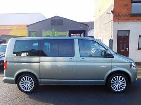 VW Volkswagen Caravelle Executive 180 Bhp semi auto ONE owner from new F/S/H SAT NAV (43)