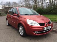 RENAULT SCENIC 1600 , 1 LADY OWNER , LOW MILES 68000 , NEW MOT APRIL 2019 , NEW BRAKES ,