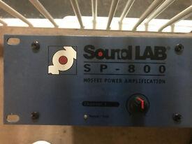 Soundlab sp-800 disco amp