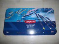 Derwent Inktense pencils set of 36 - brand new, sealed in packaging