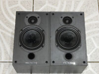 Wharfedale Diamond 9.0 Black Bookshelf Monitor Speakers in Mint Condition
