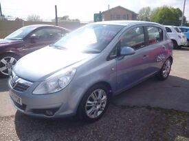 Vauxhall CORSA Design,5 dr hatchback,FSH,full MOT,nice clean tidy car,runs and drives well,only 51k