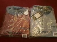 2 x New Men's Polo Style Shirt X L
