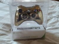 X-box 360 Controller brand new in Gold, Chrome Series special Edition. Retails on Amazon for £67.89.