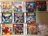 Job lot of lego ds games