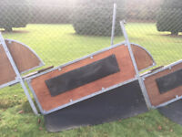 Horsebox dividers x3 in great condition horse divider hertfordshire