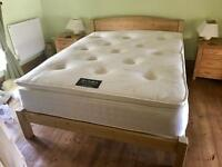 NEW BZAMS SEALED MATTRESS ONLY LUXURY 2000 Pocket Sprung Pillow Top 14 Inch Thick