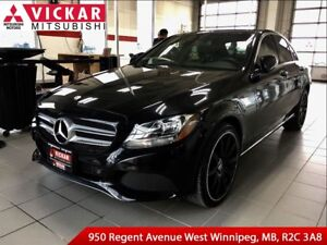 2015 Mercedes-Benz C-Class 300/ Blind Spot Monitoring/ Push-to-s