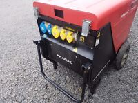 PRAMAC 6KVA P6000 DIESEL GENERATOR ProTech Power System Super Silent Key Start Cost £3600 New