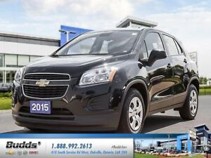 2015 Chevrolet Trax LS 0.9% FOR UP TO 24 Months OAC