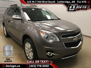 Used 2010 Chevrolet Equinox AWD LTZ-Perforated heated leather, R