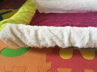 Ikea baby changing mat with two covers