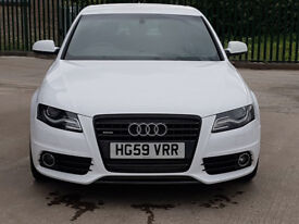 Audi A4 Stunning. Wrapped in Alpine White.