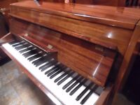 small modern upright piano by zender --summer sale price--