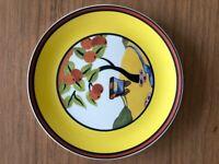 "CLARICE CLIFF Wedgwood plate ""Caravan"""