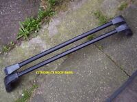 SET OF ROOF BARS FOR CITROEN C3 ALSO FITS OTHER VEHICLES PLEASE SEE FULL ADVERT DETAILS