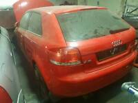 Audi a3 2.0 fsi 2004 red breaking for parts