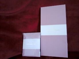 Laura Ashley 6 scented Drawer Liners, and 4 scented Drawer Sachets....Powder Rose