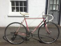 Road bike 54cm - Steel frame