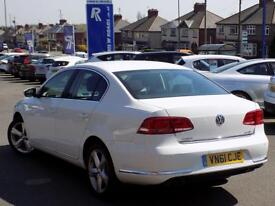 VOLKSWAGEN PASSAT 2.0 SE TDi BLUEMOTION TECHNOLOGY 4dr ** Previously sold by us ** (white) 2011