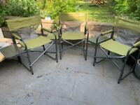 3 x Quest Traveler Chairs