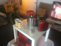 Red kitchen accessories for sale