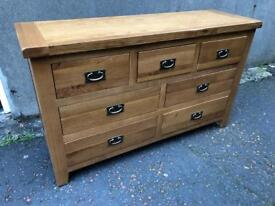 Ex-display*** Solid oak large sideboard - delivery available