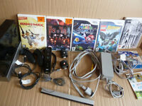 Nintendo Wii Bundle + 7 games inc. Super Mario Galaxy, Resident Evil 4, Th House of the Dead 2+3