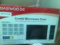 Daewoo 28l Combi Microwave Oven with convention Oven for £35