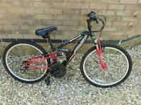 """Boys 23"""" Apollo FS 24 Mountain Bike"""
