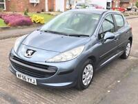 2006 56 Peugeot 207 1.4 S 16V IDEAL 1ST CAR CAM-BELT REPLACED @ 106K SERVICED @ 110K CHEAP INSURANCE