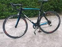 Ribble carbon fibre road bike