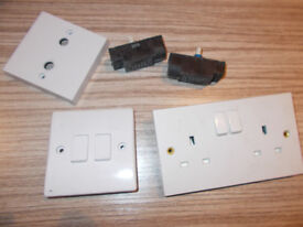 double socket and lioght switches