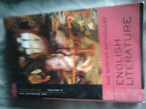 English Literature The Norton Anthology The Victorian Age