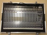 ALTO LIVE 2404 24-Channel Live Mixer Mint Condition Flightcased