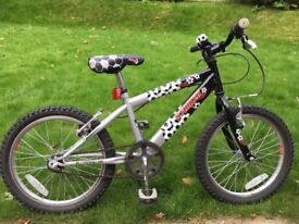 """Raleigh Striker Football bike. 18"""" wheels."""