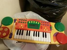 Kids toy keyboard