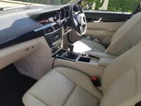 Mercedes Benz 63 plate, Beautiful Black Executive Saloon Manual with off White Leather.