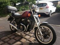 Honda Shadow 500 (VT500CD, 1983). Cruiser, good condition and working order, 12 months MOT