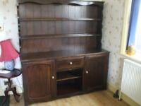 Large welsh dresser. Excellent condition