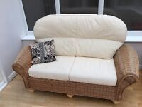 Wicker Sofa - 2 Seater