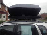 Square car roofbox