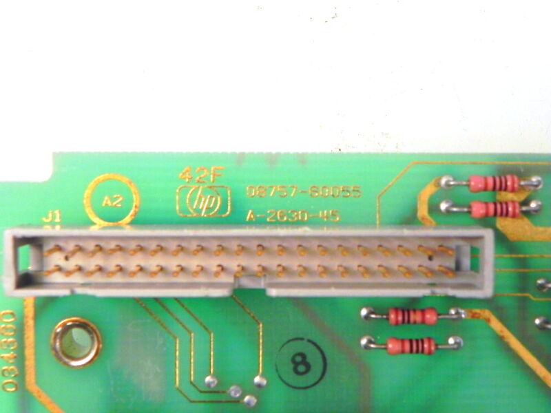08757-60055 Agilent/hp Interface Board Assembly (replaced By 08757-60135)