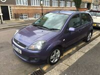 FORD FIESTA 1.4 DIESEL 2007 1 FORMER OWNER 6 STAMPS LONG MOT HPI CLEAR £30 YEARLY ROAD TAX