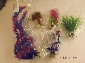 plastic plants for fish tank new