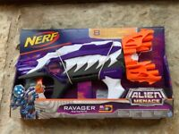 Nerf Ravager Gun with 8 Elite darts