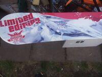 snowboard smirnoff ice limited edition