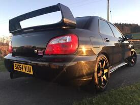 Subaru Impreza sti type uk 6spd manual