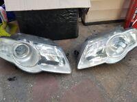 Geniune VW Passat B6 headlights